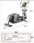 BH Fitness SK9300 rozměry